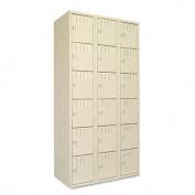 Tennsco BS6121812CSD Triple Stack Box Locker 36 x 18 x 72 Sand