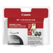 Canon CNM0615B009 Ink-Photo Paper Combo- PG-40-CL-41 Ink- 50 4x6 Sheets- Glossy