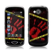DecalGirl SRLT-CRIME for Samsung Reality Skin - Crime Scene