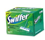 Swiffer 33407BX Dry Refill System- Cloth- White- 32/Box