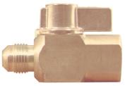 Plumb Shop Brasscraft Gas Ball Valve PSSL-12