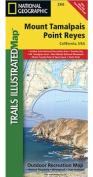 National Geographic Maps TI00000266 Mount Tamalpais - Point Reyes Map