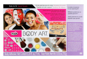 Tulip Body Art Kit, Sport Fanatic