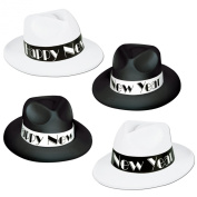 Beistle 88649-25 - Chicago Swing Fedoras - Pack of 25