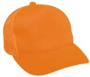 Outdoor Cap Company 5519 Blaze Orange with Mesh Back Cap