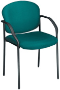 OFM 404-802 Guest-Reception Chair - 4 Legs - Teal