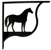 Village Wrought Iron SB-68-M Horse Shelf Bracket - Medium