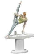 Unicorn Studios CP30005AA Pommel Horse Flare Gymnastics Porcelain Sculpture
