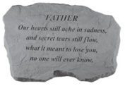 Kay Berry- Inc. 98720 Father-Our Hearts Still Ache In Sadness - Memorial - 16 Inches x 10.5 Inches x 1.5 Inches