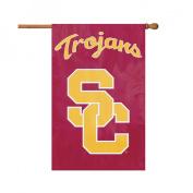 USC TROJANS 110cm x 70cm 2-SIDED BANNER FLAG AFUSC