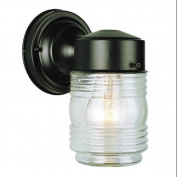 Trans Globe Lighting 4900 PB Wall Sconces , Outdoor Lighting, Polished Brass