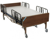 Drive Medical Heavy Duty Bariatric Hospital Bed, Brown, 140cm