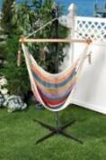 Bliss Hammocks BHC-412 Bliss Tahiti Multi Color Cotton Hammock Chair