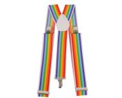 Dress Up America 603-W Wide Striped Suspenders
