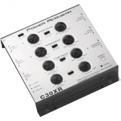 POWER C30XR 3-Way Electronic Crossover with Remote Dash Mount Bass Knob Control