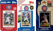 C & I Collectables CUBS3TS MLB Chicago Cubs 3 Different Licenced Trading Card Team Sets