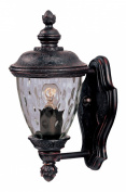 Maxim Lighting 3495WGOB Carriage House DC 1-Light Outdoor Wall Lantern - Oriental Bronze