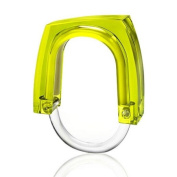Konte S100 Neon and Squared Curtain Rings - Green Concentrate