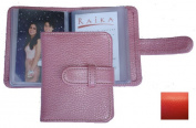 Raika RO 108 RED 3 X 4 Photo Card Case - Red