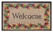 DC MILLS 12095 Shades Of Fall Vinyl Back Mat 18 X 30 Inches
