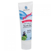 Branam Oral Health Xylitol Tooth Gel for Babies and Toddlers Go Go Grape 120ml
