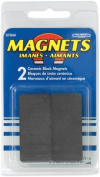 Master Magnetics Inc 07044 2 Count .38 in. X .88 in. X 1.88 in. Ceramic Block Magnets