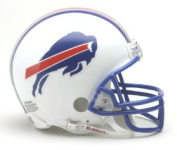 Buffalo Bills Official NFL 1976-83 Throwback Replica Mini Helmet Riddell 976709