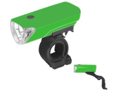 Bright Ideas 104A 3 LED Headlight with Green Casing