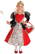 Princess Paradise Queen of Hearts Child Costume Size Large