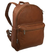 Piel Leather 7063 Traditional Backpack - Saddle