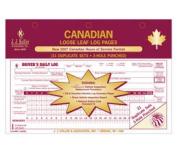 J.J. Keller 616MP Canadian Loose-Leaf Deluxe Duplicate Daily Log