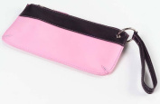 Clava 1111CV-PK Colored Vachetta Wristlet - Vachetta Pink