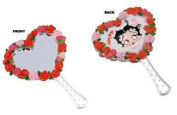 IWDSC 0179-10750 Betty Boop Bed of Roses Hand Mirror
