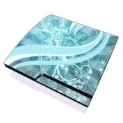 DecalGirl PS3S-FLOR-BLU PS3 Slim Skin - Flores Agua