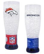 Caseys Denver Broncos NFL Crystal Pilsner Glass