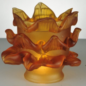 Meyda Tiffany 14581 Amber Tier Glass