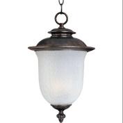 Maxim Lighting 3098FCCH Cambria Cast 2-Light Outdoor Hanging Lantern - Chocolate
