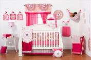 One Grace Place 10-27109 Sophia Lolita Full 8 Piece Crib Bedding Set
