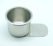 JPCommerce SLIDE-SMSSCUP Slide under Stainless Steel Cup Holder - Small