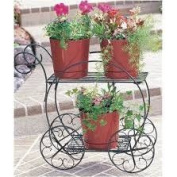 Cobraco Two-Tiered Garden Cart