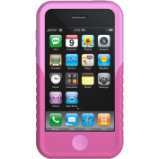 XtremeMac 01567 Pink / Pink 2-Tone Tuffwrap Silicone Case For iPhone 3G