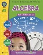 Classroom Complete Press CC3301 Algebra - Task and Drill Sheets