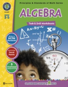 Classroom Complete Press CC3307 Algebra - Task and Drill Sheets