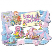 Beistle - 55930 - Baby Shower Party Kit - Pack of 6