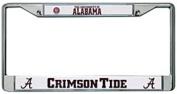 Alabama Crimson Tide Official NCAA 30cm x 15cm Chrome Licence Plate Frame by Rico Industries