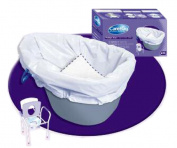 Cleanis CB-7831738 Commode Liner 20 Bags