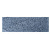 Garland Rug QUE-2260-03 Queen Cotton 22 in. x 60 in. Runner Washable Rug Sky Blue