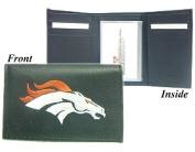 NFL - Men's Denver Broncos Embroidered Trifold Wallet