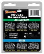 Arrow Fastener Co. 120 Piece Rivet Kit RK6120