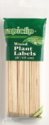 Lusterleaf 812 6 in. Rapiclip Wood Plant Labels - Case of 12